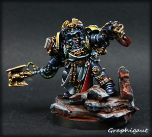Archiviste Imperial Fist NMM, Graphigaut