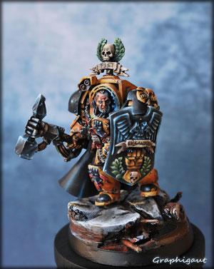 "Lysander ""Galaxy"" Imperial Fist, par Graphigaut"