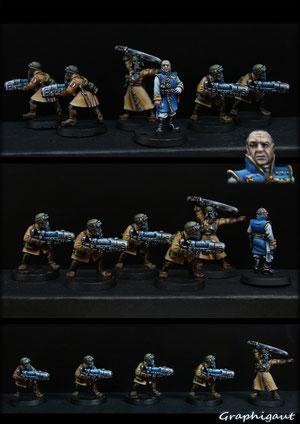 QG garde impériale Légion d'acier, par Graphigaut