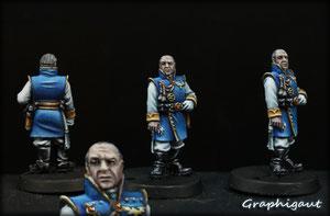Officier de la flotte, Garde Impériale, par Graphigaut