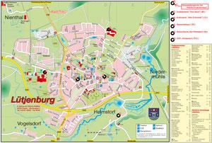 Stadtplan Lütjenburg