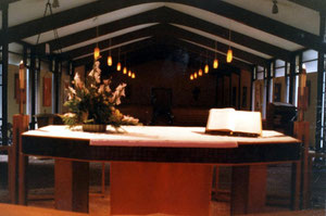 The Sanctuary from the Altar