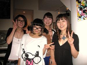 初日来展!すごく嬉しかったです☆松口さん親子・仲ウー!ありがとう♪