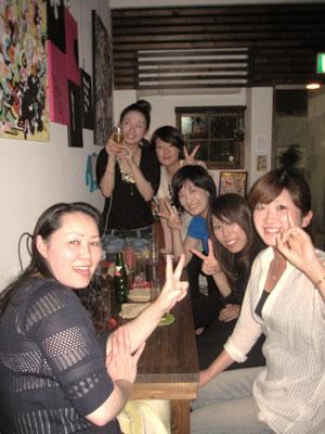 さとこ・中村さん・大津さん・まるちゃん・岡さん!ありがとうございます☆