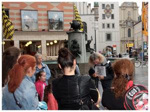 Stadtführung München Fischbrunnen Stadtgeschichte