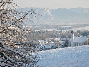 Lechbruck im Winter