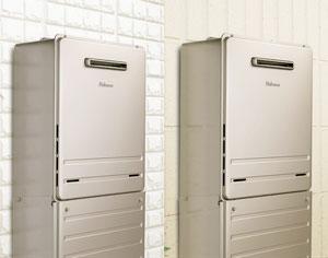 ★メタリックベージュカラー、同意匠の配管カバーは保温・配管劣化抑制・美観向上・いたずら防止におすすめです