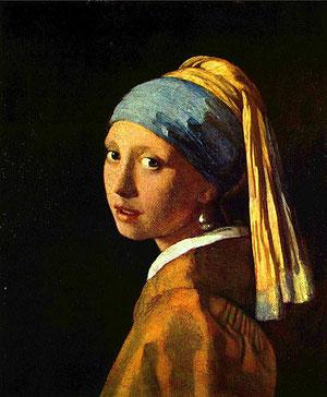 Jan Vermeer, Das Mädchen mit dem Perlohrring