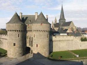 Vue de Guérande