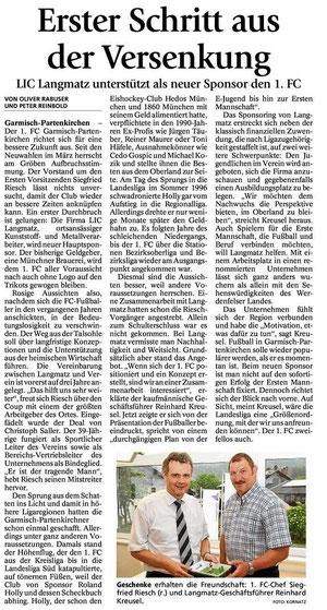 GaPa Tagblatt vom 23.06.2012