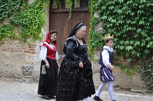 reconstitution du voyage de Catherine de Médicis