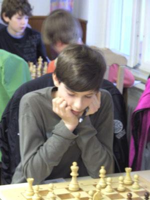 Joshua bei der U14