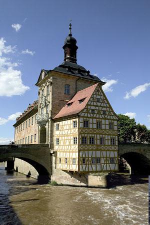 Altes Rathaus - Bamberg  - Quelle:  Archiv des Bamberg Tourismus & Kongress Service