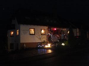 So sieht unsere Pension in der Advents- Weihnachtszeit aus!