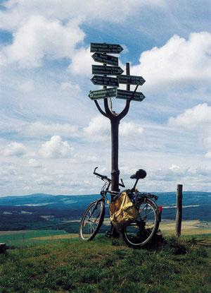 Die Rhön - einzigartig zum Radfahren, besonders mit dem  E - Bike!!!