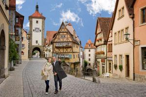Rothenburg ob der Tauber -  Quelle:  tourismus.rothenburg.de