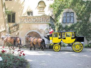 Postkutsche - Schloss Aschach
