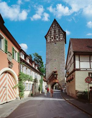 Münnerstadt-Jörgentor. Quelle: Kultourismus-im-schloss.de