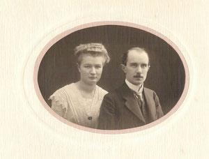 Hochzeitsfoto v.Ellen Siebs und Wolf von Unwerth