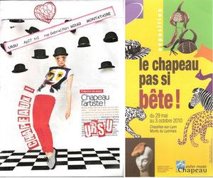 N°200 Femmes et chapeaux! Merci Zarou!