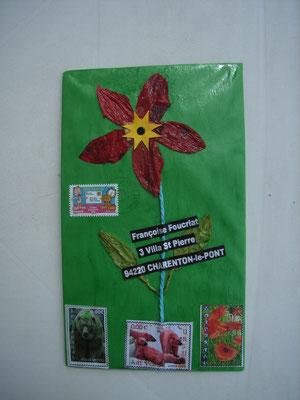 fleur relief