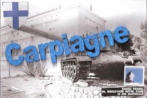 Le camp militaire de Carpiagne