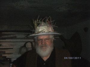 chapeau de pailles...
