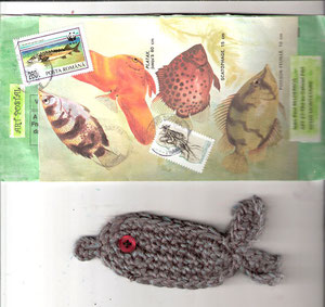 poisson au crochet + carte...