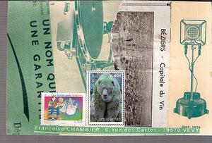 Pour Françoise Chambier...l'Ourse de la Caborne!