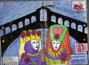 La ronde de Venise(la ville)... page d'Ursu