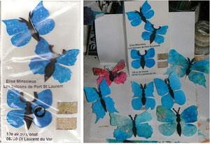 """Des """"Papillonarus Epistolus"""" pour Bouboule, notre entomologiste..."""