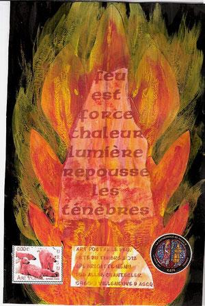 2) envoi sur le feu...
