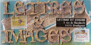 pour l'association Lettres & Images de la Licorne!