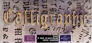 le mot Calligraphie, pour la Reine du genre...