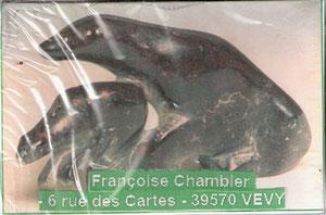 Art Inuit pour Françoise l'Ourse de la Caborne de Vevy...
