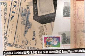 Pour Danielle et Daniel Dufois...