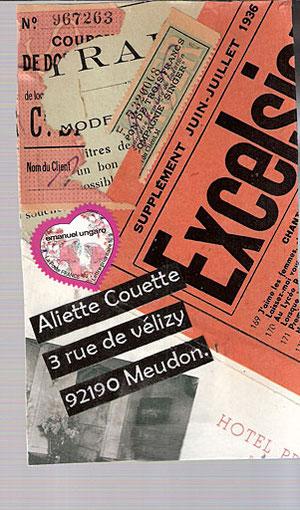 pour Aliette Couette