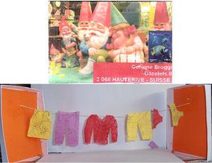 grande lessive chez les nains pour les sous vêtements d'été...qui s'annonce chaud!!