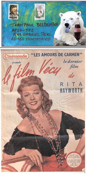 innoubliable Rita Hayworth d'Oizy...