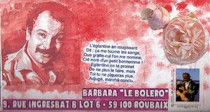 Pour Barbara, petite fleur pure et simple...
