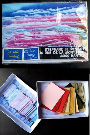 une boîte pour Qiu... pour ranger ses petits papiers...