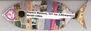 Espace Matisse à Creil...