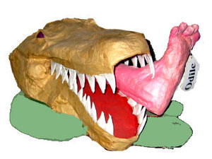 Croque...Odile (crocodile)