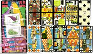 des cartes de tarot anciennes pour Lumion...