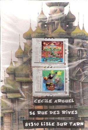 des églises russes pour Dolly et sa fille Anouchka....