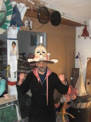 le même sur la tête d'un vrai ostéopathe...