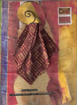 composition en tissu pour Pascale D.