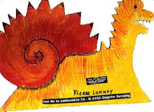 Pierre Lonnay (amateur de dragonsde 9 ans à l'époque)