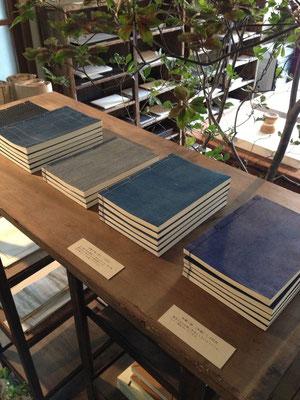 馬渕さんが制作したノート。ワークショップも計画中とか・・・。