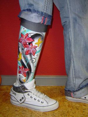 Die wahrscheinlich schickste Prothese der Welt!